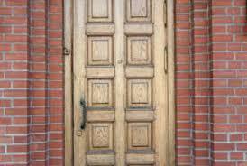 Exterior Wooden Door Repairing Small Cracks Painting A Wood Front Door Home Guides