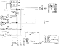 nissan 240sx headlights wiring diagram wiring diagrams