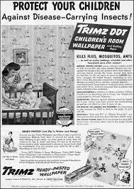 trimz ddt children u0027s room wallpaper 1947