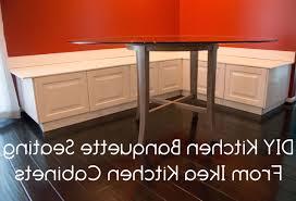 Kitchen Table With Cabinets by Diy Kitchen Table Storage Bench Best Kitchen Ideas Storage Corner