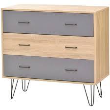 meuble commode chambre design d intérieur meuble commode scandinave de chambre 3 tiroirs