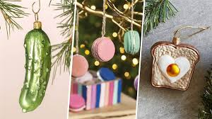 8 food and drink ornaments to garnish your tree today