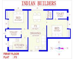 floor plan madipakkam indian builders chennai residential