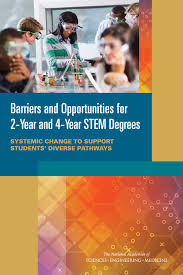 2 year degree barriers and opportunities for 2 year and 4 year stem degrees
