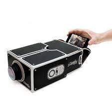 diy smartphone projector magnifier uncommongoods