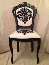 damask chair black damask chair foter