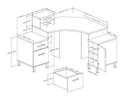 How To Measure L Shaped Desk L Shaped Office Desk Dimensions An Effective Furniture Home