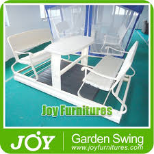 outdoor glider swing with table outdoor glider swings outdoor glider swings suppliers and
