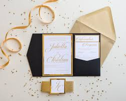 wedding invitations gold foil the julietta suite wedding invitation all that