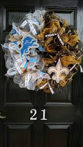 576 best wreaths nfl pro football wreaths door decor images