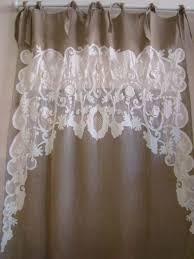 modele rideau de cuisine rideaux rideau brodés voilages voilage brodé brise bise