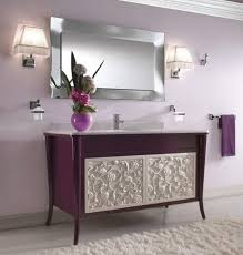 grey and purple bathroom ideas purple and gray bathroom decor elongated vanity coupled by