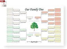 printable free family tree template free family tree template free blank family tree template lank