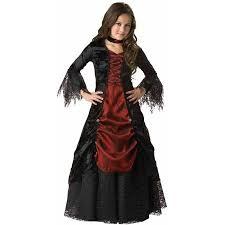 Girls Gothic Halloween Costumes Gothic Vampira Elite Collection Girls U0027 Halloween Costume Walmart