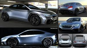 subaru sports car 2017 subaru viziv performance concept 2017 pictures information