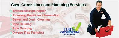 affordable plumber cave creek az plumber repair and services