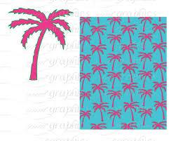 printable preppy paper preppy alligator whale palm tree clip art