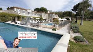 la bastide saint anne st tropez france the right room youtube