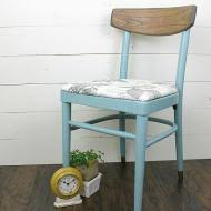 Simple Chair Nautical Inspired Vintage Chair Upcycle Project By Decoart