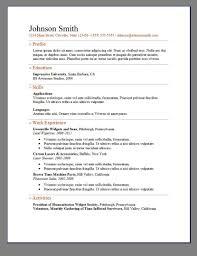 Openoffice Resume Templates Elegant Resume Templates Template Microsoft Word 2 Saneme