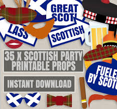 photobooth ideas 35 scottish party props printable scotland themed photo booth