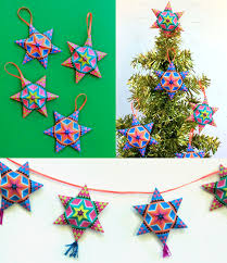 4 fun and easy to make mexican paper craft decorations star