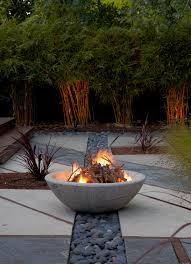 landscape inspiration a stylish fire garden home outside design