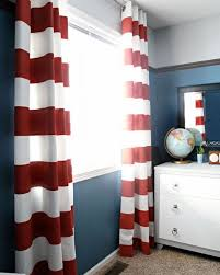 White And Navy Striped Curtains And White Striped Drapes Bedroom Curtains Siopboston2010