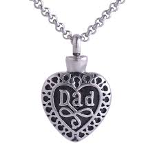 ashes pendant aliexpress buy in heart memorial pendant stainless