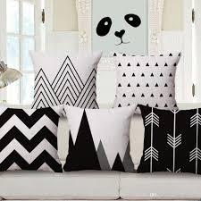 45x45cm sofa home decor cotton linen blend throw pillow cover