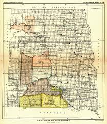 Map South Dakota Indian Land Cessions In The U S North Dakota And South Dakota 3