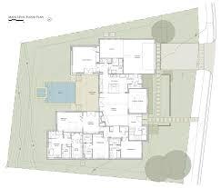 Glass House Floor Plan Elegant Suburban House With Exposed Interior Wood Beams Suburban