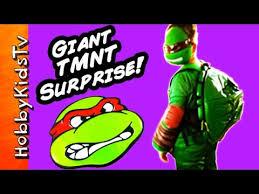 Blind Ninja Tmnt Biggest Surprise Turtle Shell Eggs Teenage Mutant Ninja
