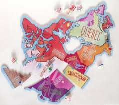 Map Of Edmonton Canada by Printable Map Of Canada Puzzle Play Cbc Parents