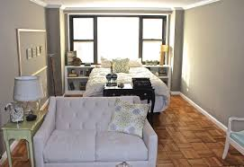 long and narrow nyc studio apartment small apartment sized sofa long and narrow nyc studio apartment small apartment sized sofa back faces the bed