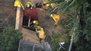 man dies after backyard tunnel collapses nbc southern california