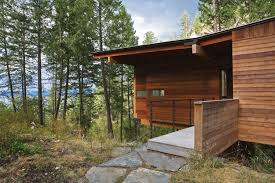 cabin on flathead lake andersson wise architects