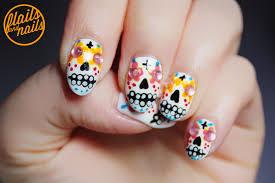 sugar skull nail designs image collections nail art designs