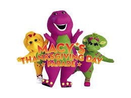 barney in 2003 s macy s thanksgiving parade