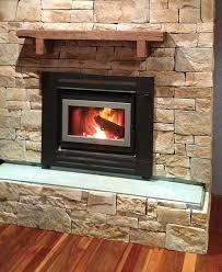 Stacked Stone Around Fireplace by Stone Fireplaces Veneer Stone Stone Cladding