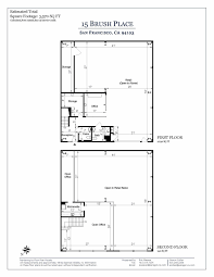Kerry Campbell Homes Floor Plans by 15 Brush Place San Francisco Ca 94103 Mls 462154 Pacific