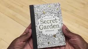 Barnes And Noble Postcards Coloring Book Review Coloring Postcards 20 Secret Garden