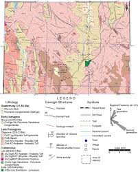 Map Of Sonora Mexico by Geology Of The Selene Perlite Deposit In The Northern Sierra Madre