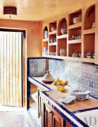 modern mexican kitchen home and art accent orange zsazsa bellagio like no other