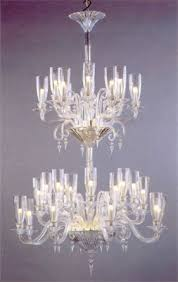 Hurricane Chandelier Baccarat Lighting Chandeliers Mille Nuits With Hurricane Shades