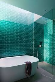 blue and green bathroom ideas christine sheldon design turquoise blue subway tile and house