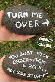 Painting Rocks For Garden Stoned And Painting A Rock Chronic Crafter