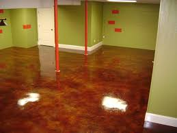 Basement Floor Stain by 22 Best Stained Concrete Images On Pinterest Concrete Staining