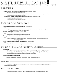 Sample Resume For Landscaping Laborer by Landscape Architect Resume Templates Architecture Cover Letter