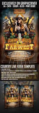 template flyer country free country live flyer template clubs parties gfx database rodeo